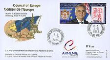 """CE64-IVB FDC Conseil Europe """"Visite Tomislav NIKOLIC, Président Serbie"""" 10-2013"""