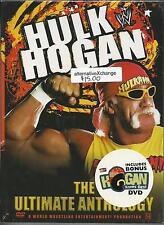 Hulk Hogan the Ultimate Anthology DVD Box Set NEW but damaged case