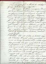Manoscritto Inventario Istituto Maria Antonia di Lucca Anno 1854