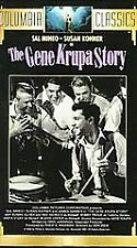 NEW The Gene Krupa Story VHS RARE Musical Biography Video,Sal Mineo,James Darren