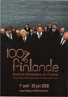 Publicité Spectacle : 100% Finlande - 2008   (1311)