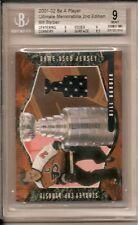 Bill Barber Graded 2001-02 BAP Ultimate Memorabilia Dynasty Game-Used Jersey