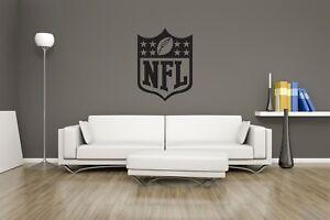 Huge NFL ( NEW STYLE ) Vinyl Sticker Decal Wall Art  / Man Cave