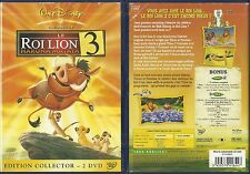 DVD - WALT DISNEY : LE ROI LION 3 / EDITION COLLECTOR 2 DVD