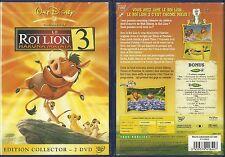 DVD - WALT DISNEY : LE ROI LION 3 / EDITION COLLECTOR 2 DVD