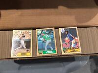 1987 Topps MLB Baseball Complete Card Set (1-792) NM-MT