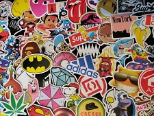 50 HYPEBEAST SKATEBOARD STICKERS PACK - FUNNY DECAL BOMB LAPTOP - NO REPEATS