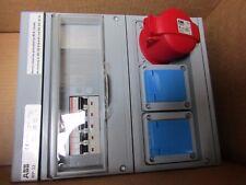 ABB Kombi MODULARE combinazione BOX MP32 in plastica-RCD Grigio SCHUKO 1005L1 9144676