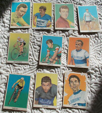 Lot de 94 cartes image cyclisme SODIMA figurina Bobet Robic Coppi Tour de France