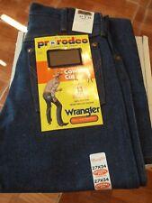 Mens Wrangler Original Fit 13MWZ Cowboy Cut Jeans 27 x 34 NWT