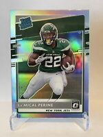 2020 Donruss Optic - La'Mical Perine - Holo Prizm - Rated Rookie - Jets #190 RC