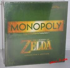 The Legend of Zelda Collectors Edition Monopoly Gamestop Exclusive Sealed MINT