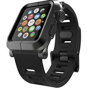 LUNATIK EPIK-007 Black Aluminum Case and Silicone Band for Apple Watch 1 42mm
