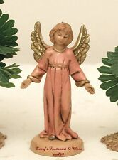 "Fontanini Depose Italy Retired 2.5"" Standing Angel Nativity Village Figure Mint"