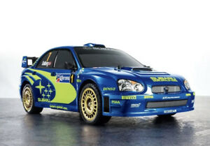 TAMIYA 47372 Subaru Impreza Mexico 2004 TT01E 1:10 RC Car Assembly Kit WRX