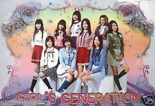 "GIRLS' GENERATION ""SCHOOL GIRL SKIRTS & SOCKS"" POSTER - Sexy Korean K-Pop Music"