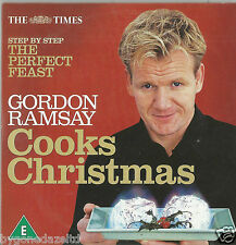 GORDON RAMSEY COOKS CHRISTMAS - STEP BY STEP  THE PERFECT FEAST TIMES PROMO DVD