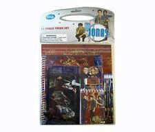 JONAS BROTHERS* 11pc Stationary VALUE SET Notebook+Pencil+Erasers+Folders DISNEY