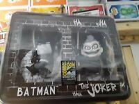 NECA SCALERS AMAZING Batman Joker SDCC EXCLUSIVE 2 PACK TOY FIGURE NEW rare