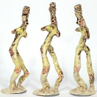 "Skulptur ""Schamane"" 30cm Unikat Keramik Andreas Loeschner-Gornau"