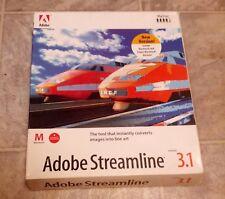 "Adobe Streamline 3.1 For Mac OS 7.0 on 3.5"" Floppy Disks"