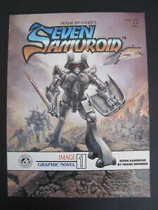 Seven Samuroid Image Graphic Novel #1 Frank Brunner 1st Edition 1984 VF  (F)