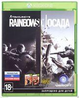 Tom Clancy's Rainbow Six: Siege (Xbox One, 2015) Russian,English version