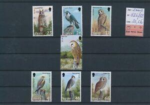 LN29593 Jersey 2001 birds animals fine lot MNH cv 20,5 EUR