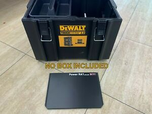 POWER RAX TOOL BOX DIVIDER for DeWalt Toughsystem 2.0 DS450 ROLLING *NO BOX INC*
