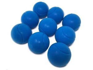 E-Deals 70mm Soft Foam/Sponge Balls - Pack of 9 Blue