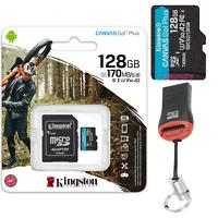 4K Kingston Canvas Go Plus 128 GB Micro SD Speicherkarte Drohne Action Kamera