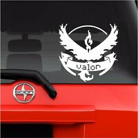 "Vinyl Decal Sticker. Car, Window, Wall. Laptop Pokemon Go Team Valor (6"" x 6"")"