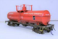 LOT 5132 - HO - Athearn Single Dome CN MOW Fuel Car - custom