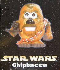 Star Wars Chipbacca (Chewbacca) Mr. Potato Cabeza Star Tours Playskool (Disney)