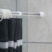 Duschstange Aluminium silber ausziehbar ca. 110-200cm Duschvorhangstange Stange