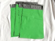 20 Green 7.5x10.5 Flat Poly Mailers Shipping Postal Envelope Bags w/Self Seal