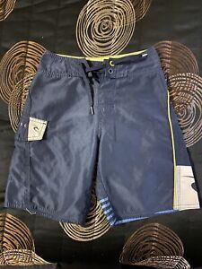 Rip Curl Ripcurl Boys Size 8 Board Shorts Boardshorts Swim Surf Blue Summer