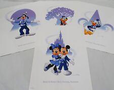 Disney LE Litho's - Epcot - Magic Kingdom - Animal Kingdom - Hollywood Studios