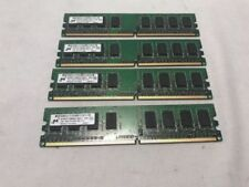 Memoria RAM Micron per prodotti informatici da 4GB da 4 moduli