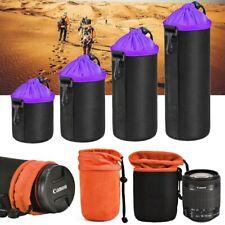 Camera Lens Bag Waterproof Soft Video Camera Lens Pouch Bag Case Size S M L XL