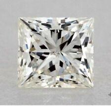 0.7 carat princess cut loose diamond GIA