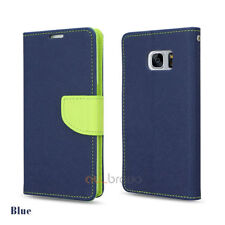 Premium Leather Flip Wallet Gel Case Cover for Samsung Galaxy S8 S8+ Plus
