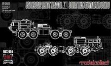 1/72 Modern Vehicle : M983A2 HEMTT & MAZ7410 Tractor Combo :Modelcollect