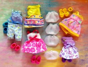 Kelly Doll Clothes *Lot of Kelly Toddler Sun Dresses/Pajamas/Panties/Shoes*