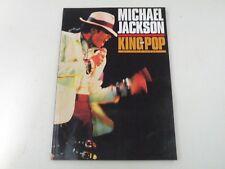 MICHAEL JACKSON - KING OF POP - LIBRO RIVISTA JAM BOOK 1992 - BUONO - LX3