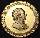 Martin Van Buren 8th President Bronze Medallion~The Red Fox In Politics~Fr/Ship