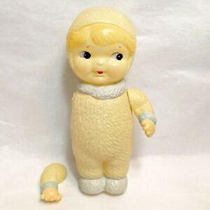 Vintage Celluloid KEWPIE Type Baby DOLL Glancing Eyes OCCUPIED JAPAN