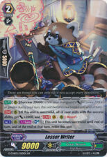 1x Cardfight!! Vanguard Lesser Writer  - G-CHB02/020EN - RR Near Mint