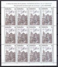 Block 35 Königsschlösser Spanien 1989 Postfrisch Minr Motive
