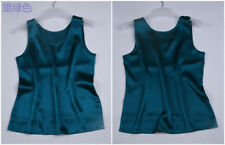 Quality 100% Pure Silk Classical Tank Top Camisole Sleeveless Vest Shirt YM005